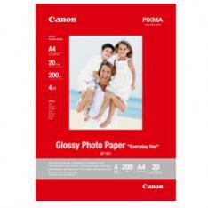 PAPEL CANON FOTOGRAFICO GP-501 CON BRILLO A4 20 HOJAS