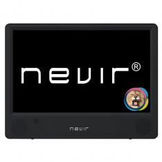 "TV PORTATIL NEVIR 10.1"" LED/ NVR-7302-TDT10P2/ TDT/ USB"