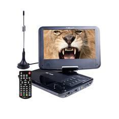 """DVD PORTATIL NEVIR 9"""" NVR-2767DVD-PUCT2 NEGRO TDT HD USB"""