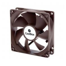 VENTILADOR AUXILIAR COOLBOX 8CM / 1600RPM / COLOR NEGRO