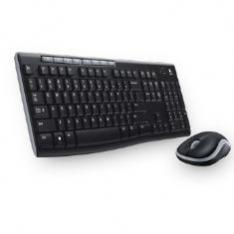 TECLADO + MOUSE LOGITECH MK270 OPTICO WIRELESS INALAMBRICO USB 2.0 NEGRO