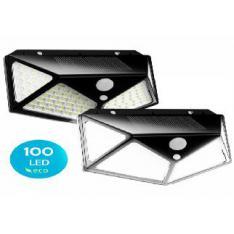 PACK DE 2 FOCOS SOLARES LED FLUX´S CON SENSOR DE MOVIMIENTO / IMPERMEABLE / 3 MODOS DE ILUMINACION