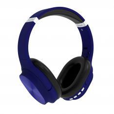 AURICULARES INALAMBRICOS FLUX'S ORION BLUETOOTH 5.0 AZUL  RANURA MICRO SD/RADIO FM