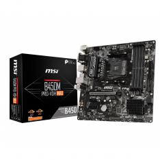 PLACA BASE MSI B450M PRO-VDH MAX SOCKET AMD DDR4X4 2666MHZ MAX 64GB D-SUB DVI-D HDMI MATX