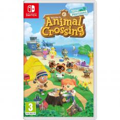 JUEGO NINTENDO SWITCH - ANIMAL CROSSING: NEW HORIZONS