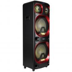 "ALTAVOZ PREMIUM NGS WILD SKA 3 1200W/ WOOFER 15"" X2/ USB/ MICRO SD/ BLUETOOTH/ AUX"