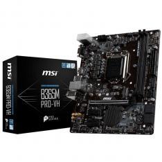 PLACA BASE MSI INTEL B365M PRO-VH SOCKET 1151 / DDR4 X2 / 2666MHZ / MAX 32GB / D-SUB / HDMI / MATX