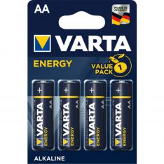 BLISTER PILAS VARTA ALCALINAS ENERGY LR6 AA/ 4 PILAS