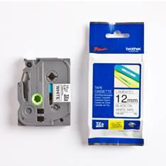 CINTA LAMINADA BROTHER TZE231 12MM x 8M BLANCO/NEGRO PT-1000/ PT-1005F/ PT-1010/ PT-1090/ PT-1280DT/ PT-1280VP