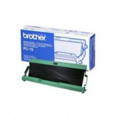 CINTA TERMICA BROTHER PC75 A4 144 PAGINAS FAX T104 T106/ 1 PAQUETE