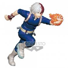 FIGURA BANPRESTO MY HERO ACADEMIA SHOTO TODOROKI MULTICOLOR 15CM