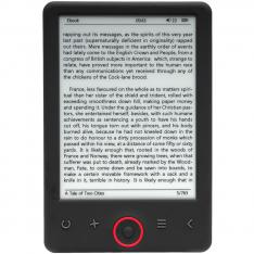 "LIBRO ELECTRONICO EBOOK DENVER EBO-625 6"" / 4GB / MICRO USB"