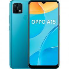 "TELEFONO MOVIL SMARTPHONE OPPO A15 MYSTERY BLUE 6.52""/ 32GB ROM/ 3GB RAM/ 13+2+2 Mpx/ 5Mpx/  HUELLA"