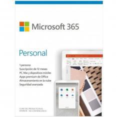 MICROSOFT OFFICE 365 PERSONAL 1 LICENCIA 1 AÑO (CAJA) NEW