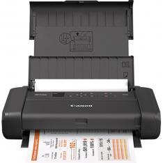 IMPRESORA CANON PIXMA TR150 INYECCION COLOR PORTATIL A4/ 9IPM/ 4800PPP/ USB/ WIFI/ BATERIA