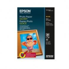 PAPEL FOTO EPSON S042536 A3 GLOSY 20 HOJAS 200GRS