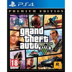 JUEGO PS4 - GRAND THEFT AUTO V PREMIUM EDITION