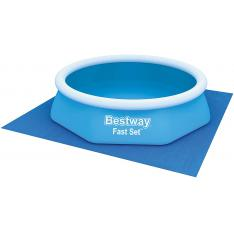 Bestway 58000 - Tapiz de Suelo 274x274 cm para piscina
