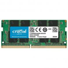 MEMORIA DDR4 8GB CRUCIAL / SODIMM / 2666 MHZ / PC4 21300 CL19