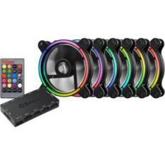 VENTILADOR GAMING ENERMAX T.B. RGB 120 MM PAK DE 6