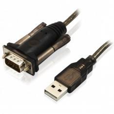 CABLE CONVERTIDOR EWENT EW1116 DE USB A SERIAL MACHO-MACHO