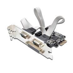 TARJETA EWENT COMBO SERIE & PARALELO PCI EXPRESS 2+1 PUERTOS