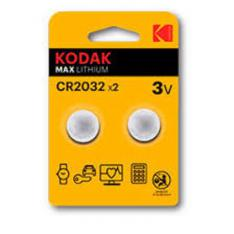 BLISTER PILAS KODAK BOTON / LITIO ULTRA CR 2032 BLISTER 2 PILAS