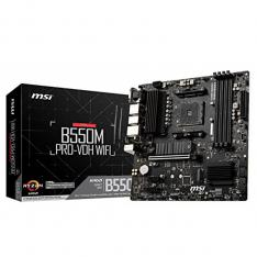 PLACA BASE MSI AMD B550M PRO-VDH WIFI SOCKET AM4 DDR4 X4 MAX 128GB 3200MHZ DISPLAY PORT HDMI D-SUB MATX
