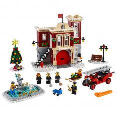 LEGO CREATOR EXPERT PARQUE DE BOMBEROS NAVIDEÑO - 10263