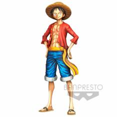 FIGURA BANPRESTO ONE PIECE MONKEY D. LUFFY MASTER STAR 27CM