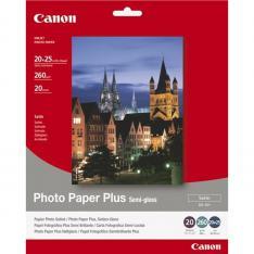 PAPEL CANON FOTO SG-201 1686B018 8X10/ 20 HOJAS/ SEMISATINADO