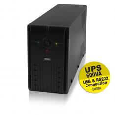 SAI EMINENT UPS 600VA/360W/ RS232 + USB