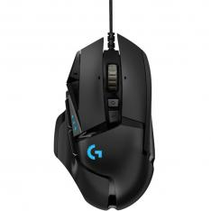 MOUSE RATON LOGITECH G502 HERO EDICION ESPECIAL OPTICO USB NEGRO GAMING