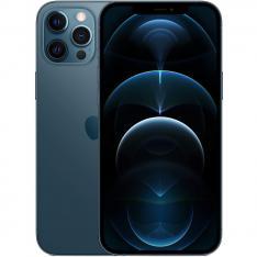 APPLE IPHONE 12 PRO MAX 128GB PACIFIC BLUE SIN CARGADOR / SIN AURICULARES / A14 BIONIC / 12MPX / 6.7 MGDA3QL/A