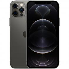 APPLE IPHONE 12 PRO 128GB GRAPHITE SIN CARGADOR / SIN AURICULARES / A14 BIONIC / 12MPX / 6.1  MGMK3QL/A