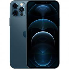 TELEFONO MOVIL SMARTPHONE APPLE IPHONE 12 PRO 128GB PACIFIC BLUE SIN CARGADOR / SIN AURICULARES / A14 BIONIC / 12MPX / 6.1  MGMN3QL/A