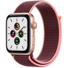 RELOJ APPLE WATCH SERIES SE GPS/CELL 44MM GOLD ALUMINIUM CASE WITH PLUM SPORT LOOP/GPS/CELL MYEY2TY/A