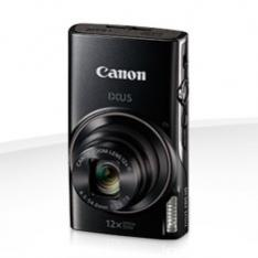 "CAMARA DIGITAL CANON IXUS 285 HS NEGRA 20.2MP ZOOM 24X/ ZO 12X/ 3"" LITIO/ VIDEOS HD/ MODO ECO"