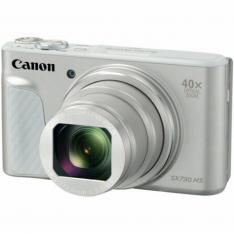 CAMARA DIGITAL CANON POWERSHOT SX730 HS 20.3MP/ ZOOM 80X/ ZO 40X/ 3''/ FULL HD/ WIFI/ NFC/ SILVER