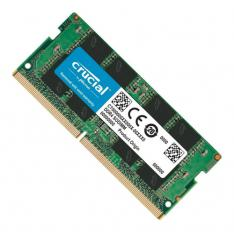 MEMORIA PORTATIL DDR3 L 4GB CRUCIAL / SO DIMM 204 / 1600 MHZ / PC3 12800 / CL11 / 1.35V
