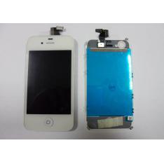 REPUESTO PANTALLA LCD+TOUCH COMPLETA PARA APPLE IPHONE 4G BLANCO