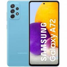"""TELEFONO MOVIL SMARTPHONE SAMSUNG GALAXY A72 AZUL 6.7""""/ 128GB ROM/ 6GB RAM/ 64+12+5+5MPX/ 32MPX/ DUAL SIM/ 4500 MAH"""