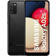 """TELEFONO MOVIL SMARTPHONE SAMSUNG GALAXY A02S  6.5"""" NEGRO / 32GB ROM/ 3GB RAM/ 13+2+2Mpx - 5Mpx/ 5000mAh/ 4G/ DUAL SIM"""