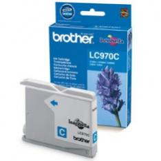 CARTUCHO TINTA BROTHER LC970C CIAN 300 PAGINAS DCP-135C/ DCP-150C/ MFC-235C/ MFC-260C