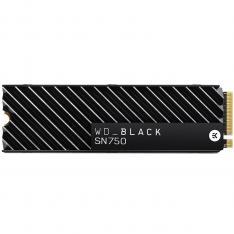 DISCO DURO INTERNO SOLIDO HDD SSD WD WESTERN DIGITAL BLACK WDS500G3XHC 500GB M.2 2280 PCI EXPRESS GEN 3 HEATSINK NVME