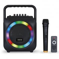ALTAVOZ PORTATIL FONESTAR BOX-35LED BLUETOOTH/ KARAOKE/ USB/ SD/ MICROFONO INALAMBRICO/ 35W RMS