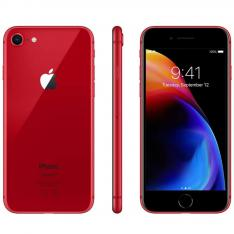 "TELEFONO MOVIL SMARTPHONE REWARE APPLE IPHONE 8 64GB RED / 4.7"" / LECTOR HUELLA / REACONDICIONADO / REFURBISH / GRADO A+"
