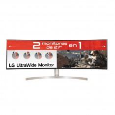 MONITOR LED LG IPS CURVO 49WL95C-WE 5120 X 1440 5MS HDMI DISPLAY PORT USB TIPO C REG. ALTURA
