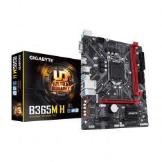 PLACA BASE GIGABYTE INTEL B365M-H SOCKET 1151 9TH GENERATION DDR4 X2 2666MHZ MAX 32GB D-SUB HDMI MICRO ATX