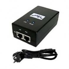 ADAPTADOR UBIQUITI NETWORKS POE-24  24VDC 24W GBIT
